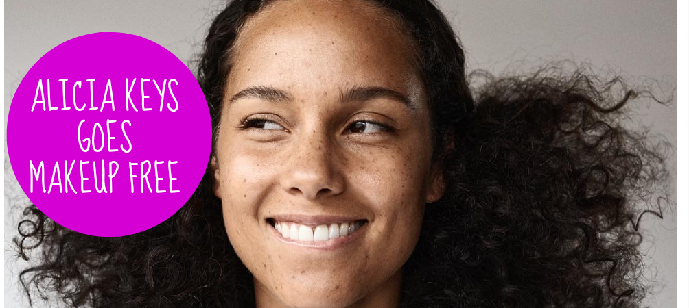 Alicia Keys Without Makeup And Weave alicia keys is makeup free and i ...