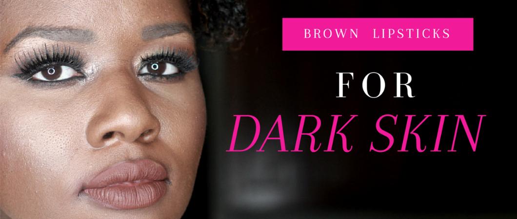 Brown Lipsticks for Black Women