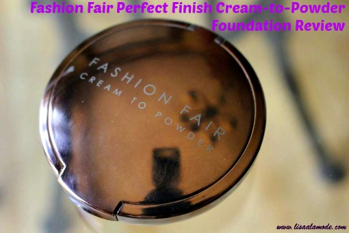 Fashion Fair Perfect Finish Cream To Powder Foundation