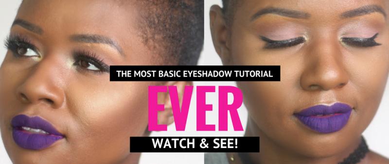 basic-eyeshadow-tutorial-black-girl
