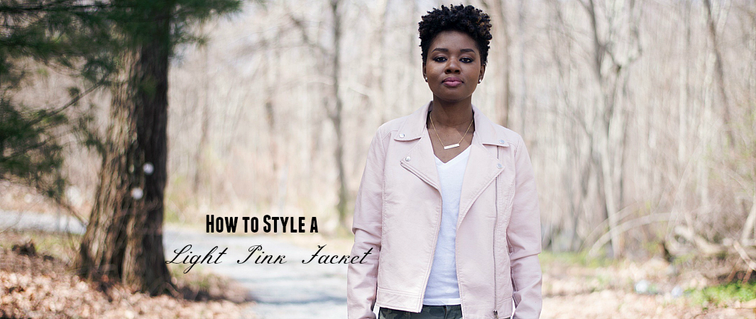 What To Wear With A Light Pink Jacket Link Up Party