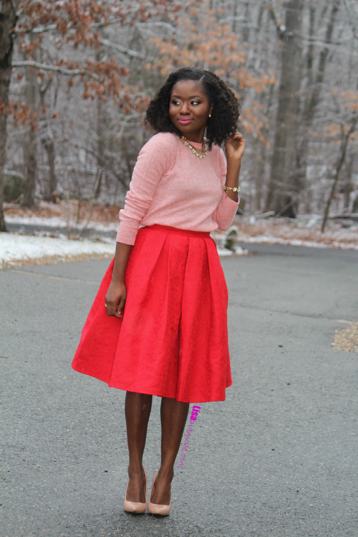 Red skirt how to wear – Modern skirts blog for you